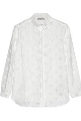 Burberry Fil Coupe Shirt White