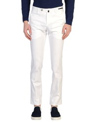 Pt01 Trousers Casual Trousers Men White