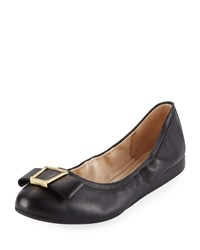 Cole Haan Emory Bow Ballet Flats Black