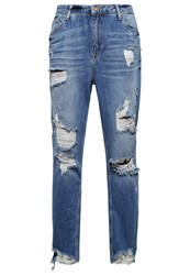 Only Onlzach Straight Leg Jeans Light Blue Denim Light Blue Denim