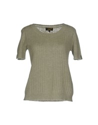 Le Mont St Michel Sweaters Military Green