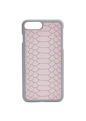 Gigi New York Python Leather Iphone 7 Plus Case Petal Pink