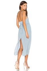 Pfeiffer Lazlo Slip Dress Blue