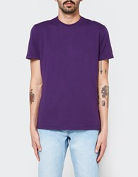 Our Legacy Perfect T Shirt Purple Army Jersey
