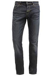 Meltin Pot Melton Straight Leg Jeans Dark Blue