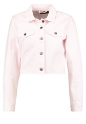 Dr. Denim Dr.Denim Jeanie Jacket Pink Destroyed Denim