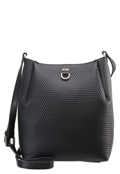 Karen Millen Laurel Canyon Across Body Bag Black