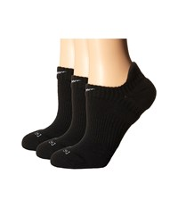 Nike Dri Fit Cushion No Show 3 Pair Pack Black Wolf Grey Women's No Show Socks Shoes