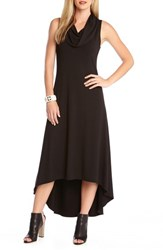 Women's Karen Kane 'Katie' Cowl Neck High Low Maxi Dress