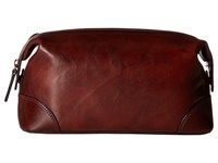 Bosca Dolce Collection Shave Kit Dark Brown Wallet