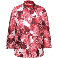 Moncler Gamme Rouge Jacquard Jacket Flower Red