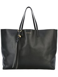 Alexander Mcqueen Large East West Tote Women Calf Leather One Size Black