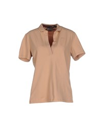 Piero Guidi Topwear Polo Shirts Women Sand
