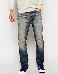 United Colors Of Benetton Loose Fit Jeans With Blasting Washedblue