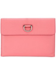 Burberry D Ring Clutch Bag Pink And Purple