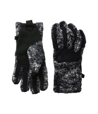 The North Face Women's Denali Thermal Etip Glove Tnf Black Marble Print Extreme Cold Weather Gloves