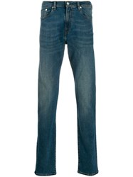 Paul Smith Ps Straight Leg Jeans Blue
