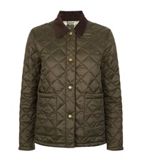Barbour Summer Cropped Border Jacket Female Green