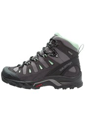 Salomon Quest Prime Gtx Walking Boots Detroit Asphalt Lucite Green Black