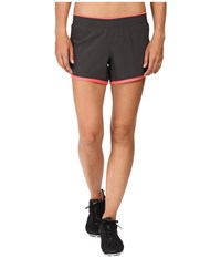 The North Face Reflex Core Shorts Asphalt Grey Calypso Coral Women's Shorts Gray
