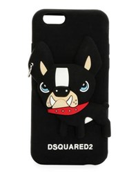 Dsquared Doggo Iphone Case Black