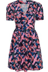 Wolf And Whistle Ditsy Tea Dress Multi Coloured