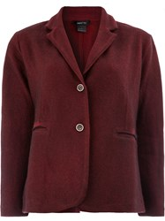Avant Toi Fitted Jacket Red