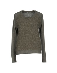 Cappellini By Peserico Sweaters Light Grey