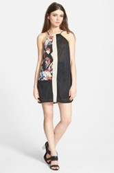 Whitney Eve 'Hidden' Print Swing Dress Juniors Multi