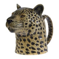 Quail Ceramics Ceramic Leopard Jug Neutral