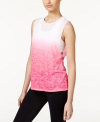 Ideology Dip Dyed Burnout Tank Top Only At Macy's Molten Pin