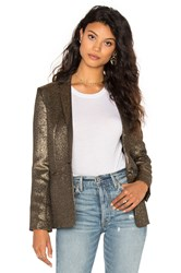 Stella Forest Blazer Metallic Gold