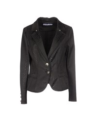 22 Maggio Suits And Jackets Blazers Women Steel Grey