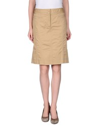Philosophy Di Alberta Ferretti Skirts Knee Length Skirts Women Beige