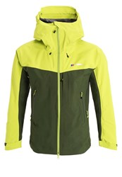 Berghaus Hybrid Hardshell Jacket Forest Bright Lime Green