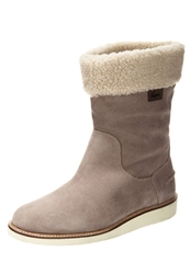 Lacoste Ansell Winter Boots Light Grey Taupe