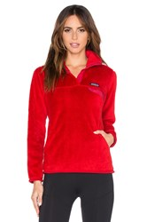 Patagonia Re Tool Snap T Pullover Red