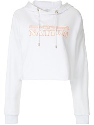 P.E Nation Hot Streak Hoodie White