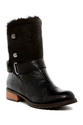 Matt Bernson Tundra Genuine Shearling Lined Bootie Black