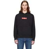 Levi's Levis Black Graphic Pullover Hoodie