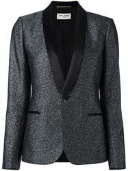 Saint Laurent Iconic Le Smoking Jacket Black