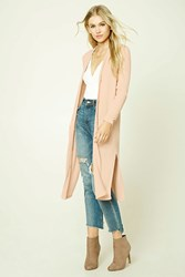 Forever 21 Button Front Longline Cardigan