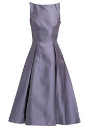 Adrianna Papell Cocktail Dress Party Dress Gunmetal Dark Gray