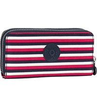 Kipling Uzario Large Nylon Wallet Sugar Stripes