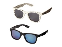 Vans Janelle Hipster Two Pack Sunglasses Classic White Black Fashion Sunglasses