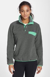Patagonia Women's 'Synchilla' Fleece Pullover Nickel Galah Green