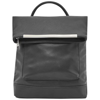 French Connection Carla Pu Backpack Black