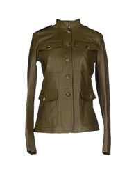 Michael Kors Suits And Jackets Blazers Women Military Green