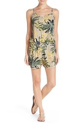 Women's Vince Camuto 'Crete Flower' Cover Up Romper
