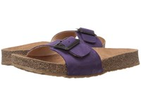 Haflinger Gina Eggplant Women's Sandals Purple